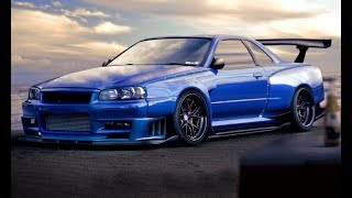 NISSAN SKYLINE GTR R34 Top Exhaust Sounds!