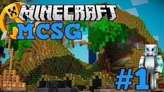 """[Minecraft] - Survival Games - #1 w/IlCostoro - """"Arando i team di cheaters""""."""