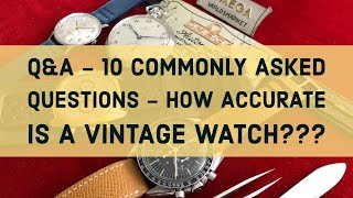 Q&A - What do the 600 and 30 stand for below the word Seamaster? How accurate is my vintage watch?