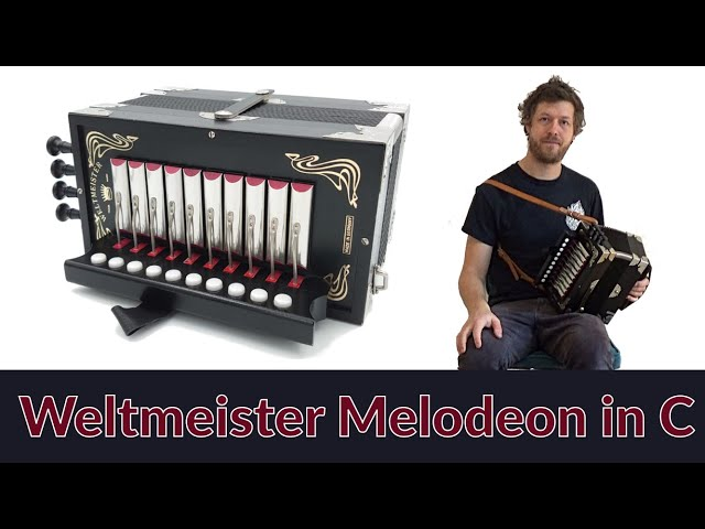 For Sale: Weltmeister 1-row 4-stop Melodeon in C