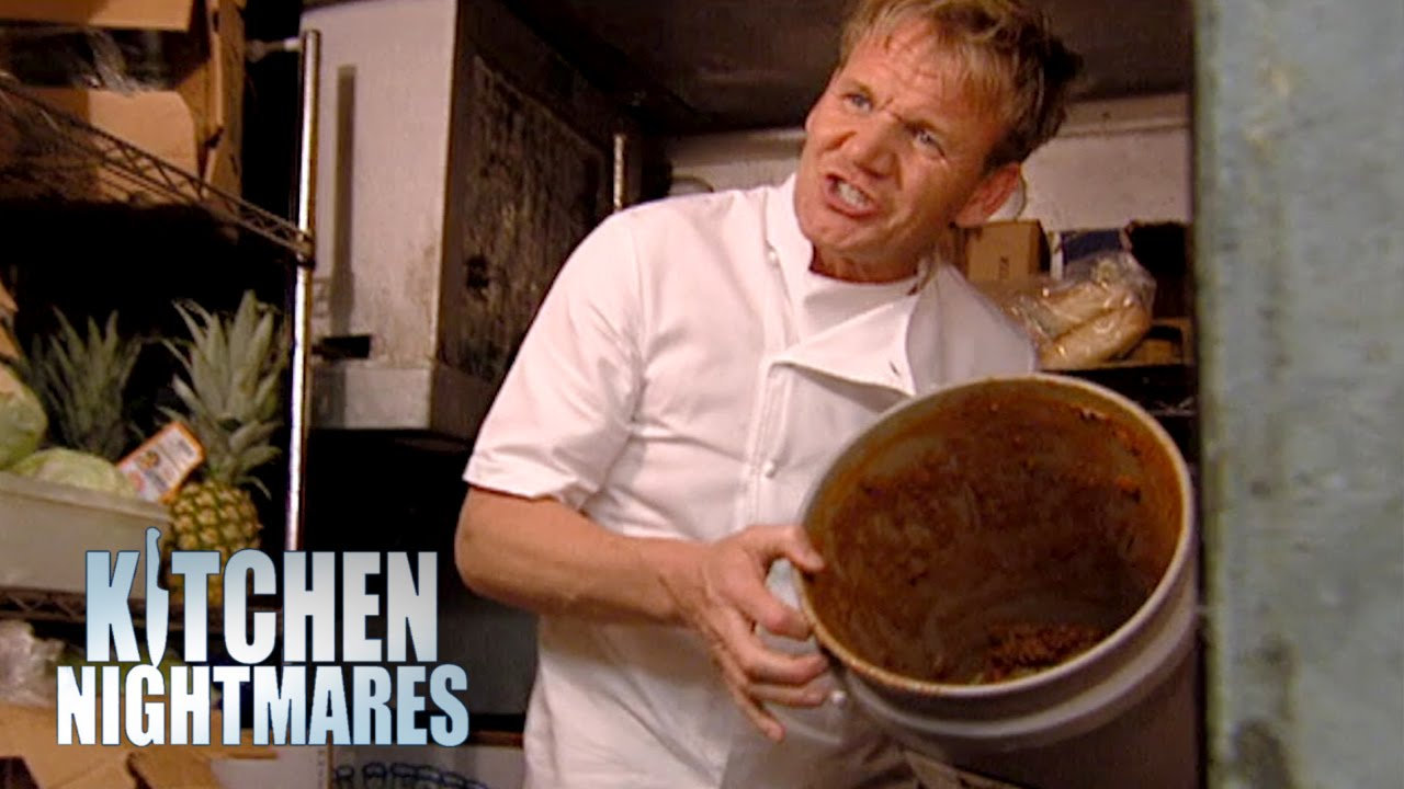 Chef Ramsay Completely Loses His Mind  Kitchen Nightmares  YouTube