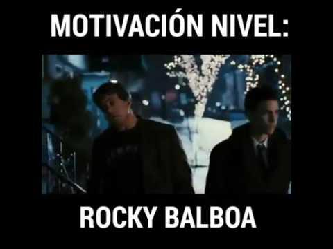 Motivación Nivel Rocky Balboa
