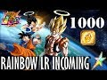 1000 STONES!!! Can we RAINBOW LR Gogeta?! DBZ Dokkan Battle