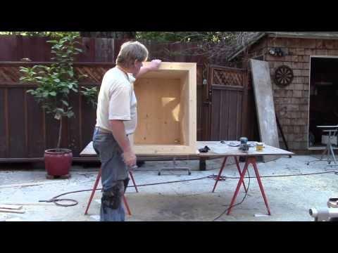 DIY Japanese Soaking Tub Made From Recycled Lumber!