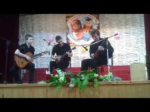 Майоров Александр и Иван, Ануфриев Влад  Французский сувенир, Джаз балалайка