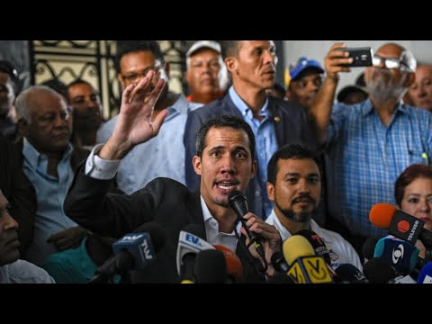 Venezuela's Guaido backs strike, tells Maduro 'pressure just beginning'