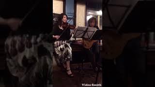 Yohko Yamamoto Violin Masashi Hino Guitar http://belcantomusic.com/