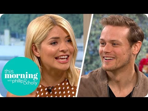 Holly Can't Help Fangirling Over Outlander's Sam Heughan | This Morning