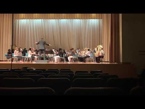 Andrew's 8th grade festival Song 3 Bainbridge Middle School 2020