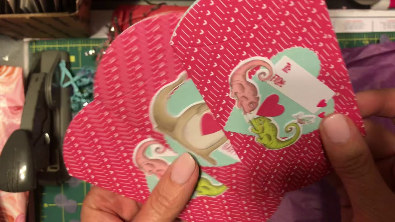Happy mail surprise! Valentine's Day and birthday snail mail! Papercraft