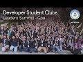 developer student clubs leaders summit goa 2018