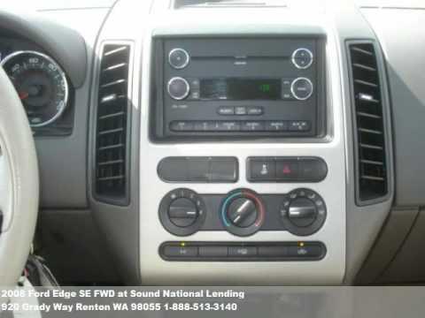 2008 ford edge se fwd 17771 at sound national lending in. Black Bedroom Furniture Sets. Home Design Ideas