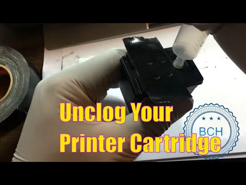 3 Most Effective Ways to Unclog HP, Canon and Lexmark Integrated Printhead Cartridges