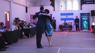 Jenny and Ricardo Oria at Paisley Porteno Milonga 1June 2019 (1st dance)