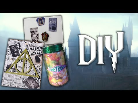 3 diy deco harry potter youtube. Black Bedroom Furniture Sets. Home Design Ideas