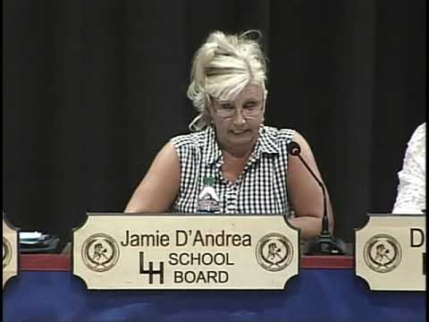 Laurel Highlands School District Board Meeting 8/6/19