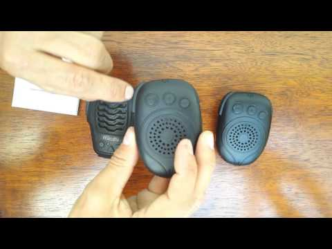 Unboxing & Review of the DellKing H4 Bluetooth PTT Speaker Microphone