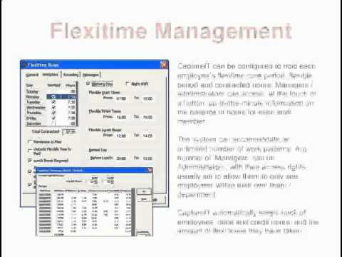 Employee Time Recording System