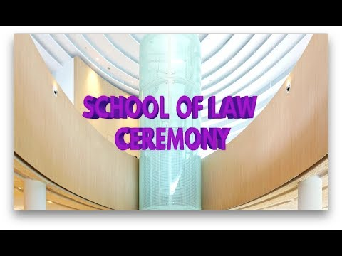 SMU Commencement 2017: School of Law Ceremony