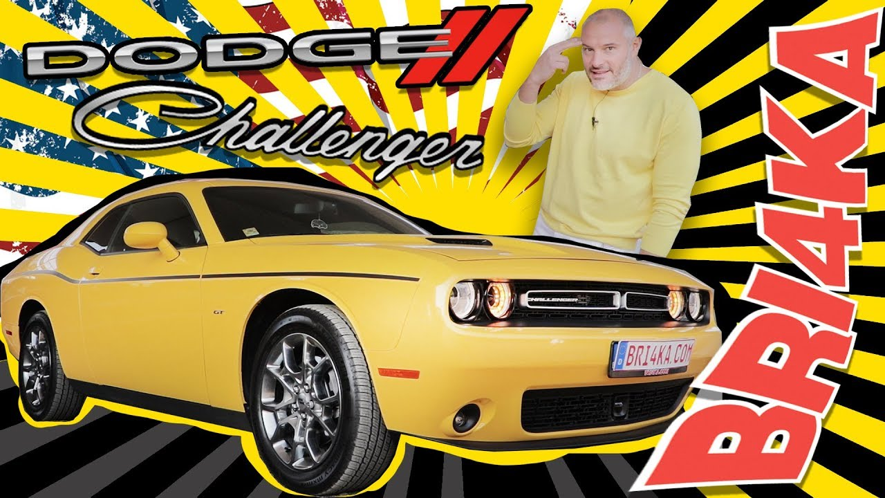 Dodge Challenger 3 |SXT RT SRT| Test and Review | Bri4ka.com