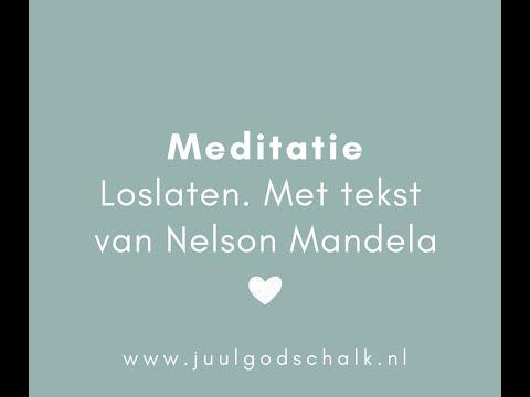 Goede Meditatie met een voorgelezen tekst van Nelson Mandela over AL-84