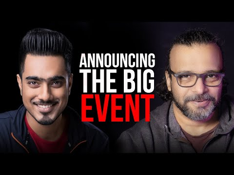Announcing the big Event