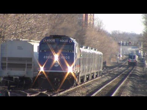 NJ Transit Bergen County Line Railfanning at Plauderville