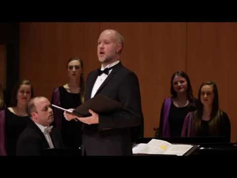 """""""I'll Be On My Way"""" By Shawn Kirchner; BYU Singers, Andrew Crane Conductor"""