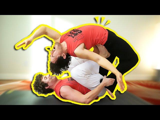 BREAKING MARKIPLIER'S BACK | Friend Yoga