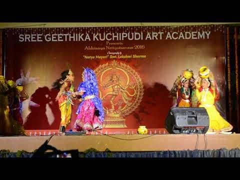 Madhura nagarilo dance by Sragvi