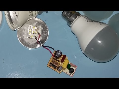How to repair/fix LED bulb just in 5 minutes In Hindi