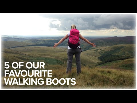 5 Of Our Favourite Walking Boots