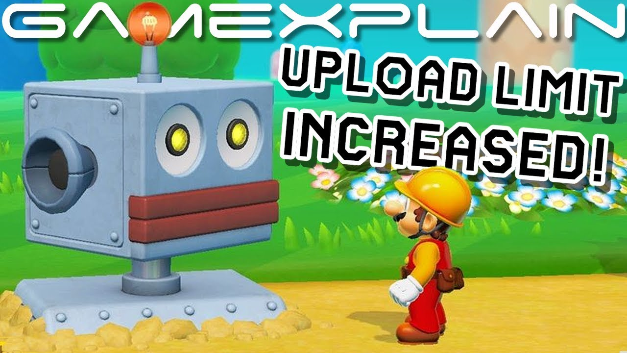 Watch Super Mario Maker 2 - Insane Create Your Own Robot