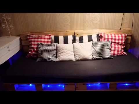 Cara Membuat Sofa Dari Pallet Kayu Jati Belanda Youtube