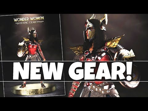"""FIRST LOOK AT NEW """"Legendary Edition EPIC GEAR"""" For Wonder Woman! (Gear Update)"""