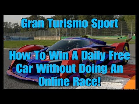 28) Gran Turismo Sport How To Win A Daily Free Car Without Doing An Online Race!