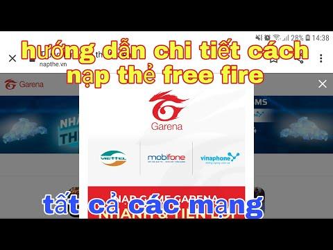 garena free fire| #191 hướng dẫn chi tiết cách nạp thẻ free fire @soái lang thang vlogs