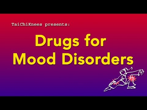 Some Drugs for Major Depressive Disorder and Bipolar Disorder
