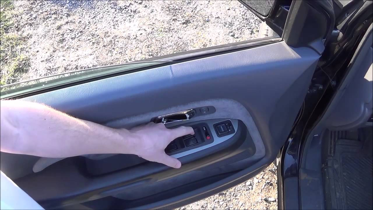 How To Fix Your Honda Automatic Power Window Switch