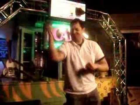 Neal Doing Karaoke