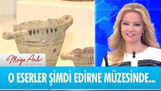 Müge Anlı'nın katıldığı kazıda bulunan eserler sergileniyor - Müge Anlı ile Tatlı Sert 18 Ocak 2019
