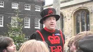 Yeoman Warder At Tower Of London, Part IV of Four