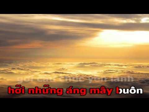 Áng Mây Buồn - Karaoke (Beat)