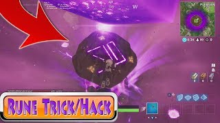 *New* Rune Trick/Hack in Fortnite Season 6! Fortnite Rune Event | Cube Tricks Fortnite