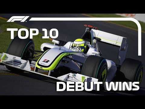 Top 10 Debut Wins In F1