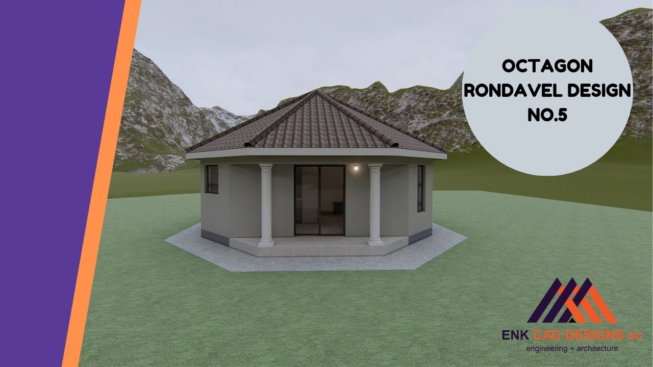 Octagon Rondavel_5 | Yurt Floor Plans | Rondavel House ...