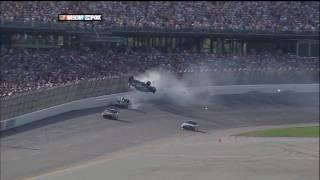 2009 NASCAR Talladega Finish aka Carl Edwards Wild Ride (Replays) HD