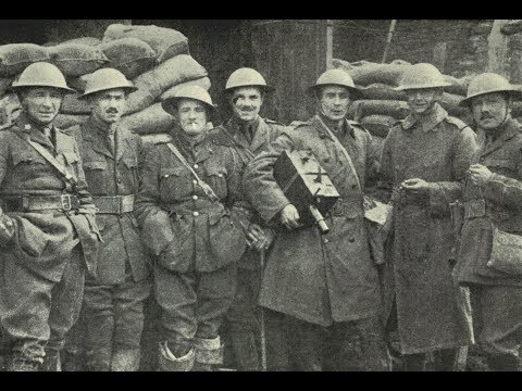 Photos of British Filmmaker Geoffrey Malins During World War 1