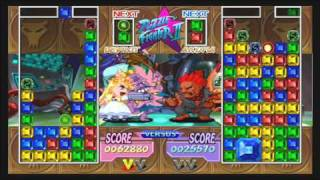 Puzzle Fighter HD Remix Akuma vs Devilot Gameplay Xbox 360 HD HQ