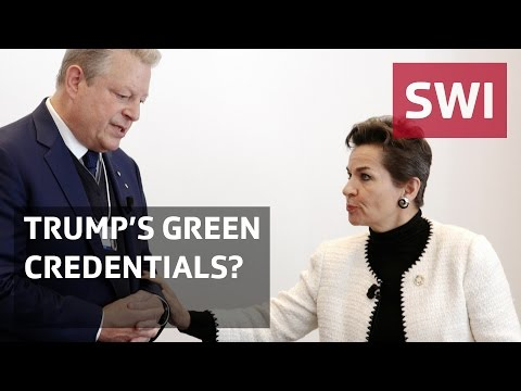 WEF 2017: Figueres and Gore on Trump's green credentials